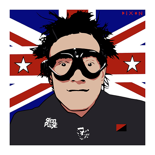 'Johnny Rotten Goggles' Limited Edition Pop Print