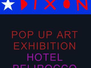 Pop Up Art Exhibition at Hotel Pelirocco...