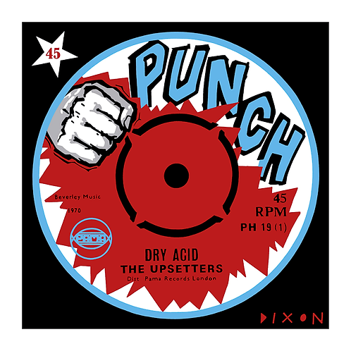 'Punch Label' Limited Edition Pop Print