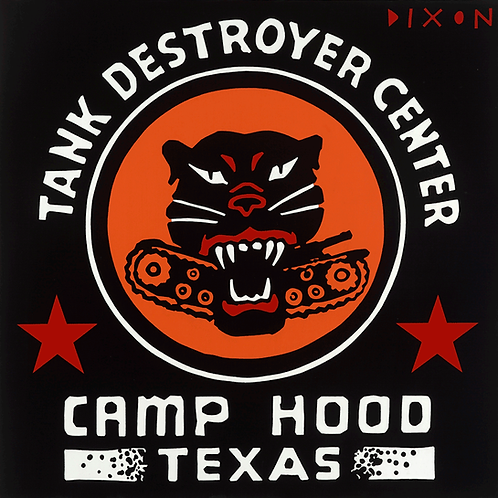 'Camp Hood' Limited Edition Pop Print