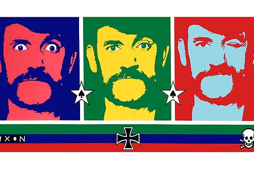 'Lemmy' Limited Edition Pop Print