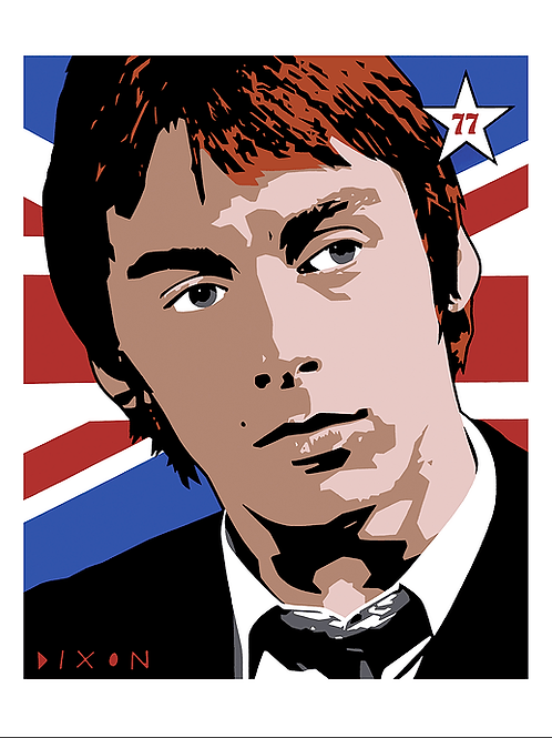 'Paul Weller' Limited Ediiton Giclee Print
