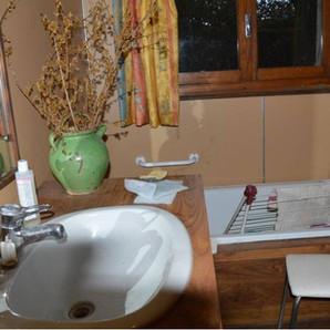 AVANT : Salle de bain à rénover