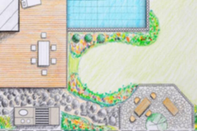 creation d'un espace piscine isère