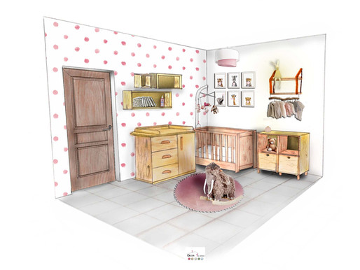 Chambre de bébé Manon