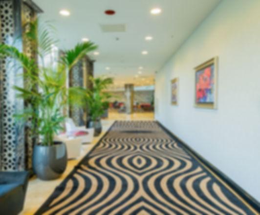 amenagement professionnel couloir hôtel