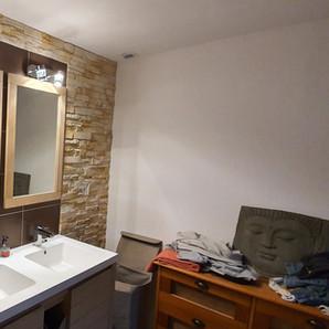 APRES : Salle de bain rénovée