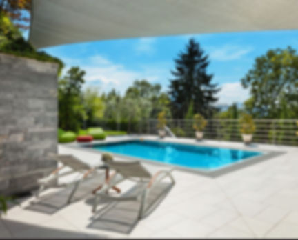 creation espace vert avec piscine creusée