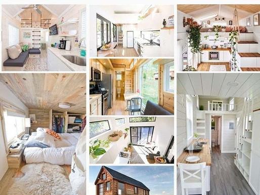 Entre caravane et bungalow, la magie de la Tiny House est en route … !
