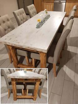 Table salle à manger campagnarde