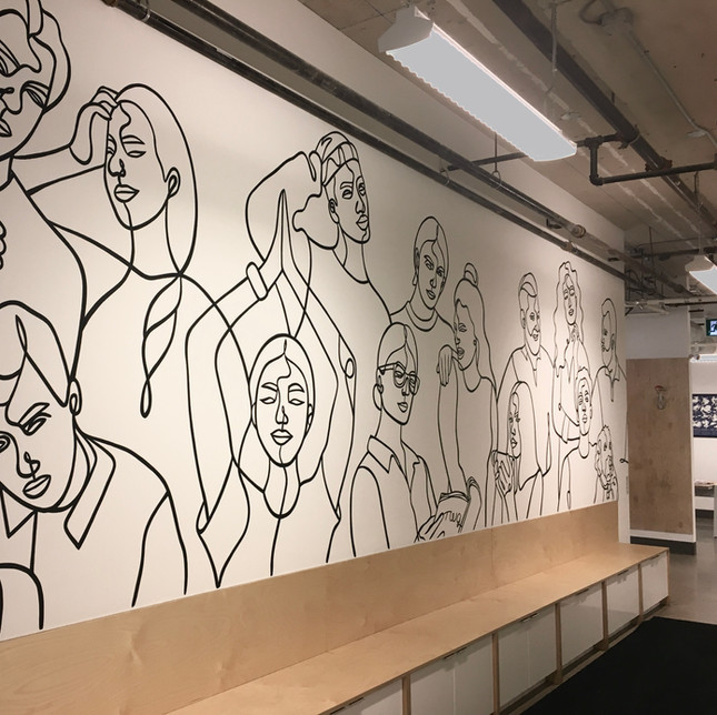 TWG Office Mural