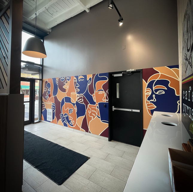 Cafe Pyrus Mural