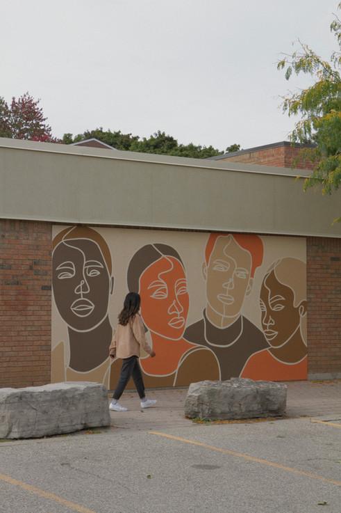 Centreville-Chicopee Community Centre Mural