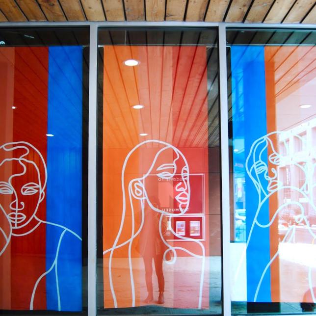THEMUSEUM Window Display