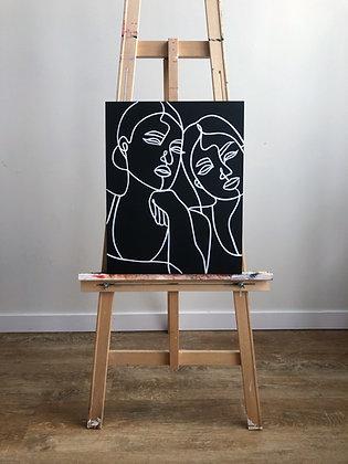Birch Panel Painting 1