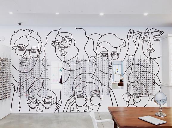 Insight Eyecare Mural