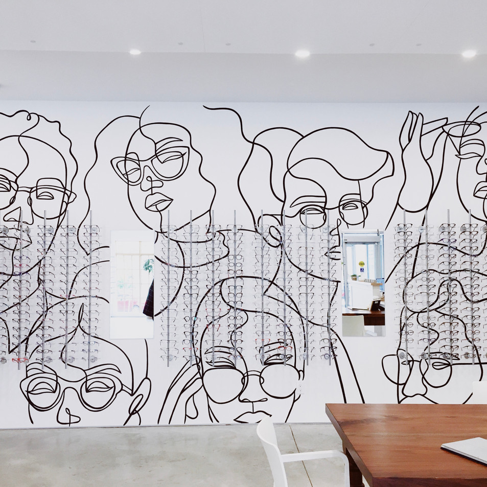 Insight Eyecare Mural