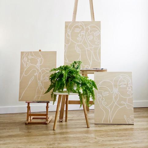 Birch Panel Series