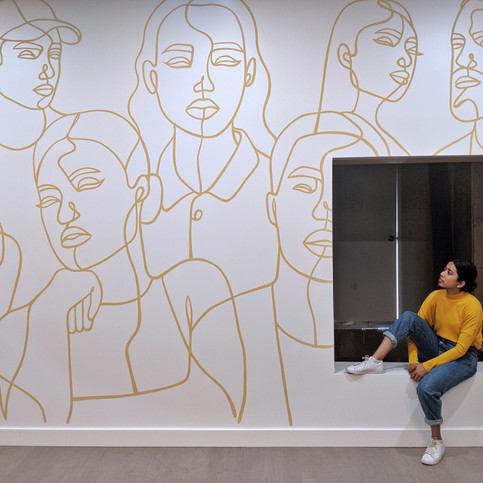 Shopify Plus Office Mural