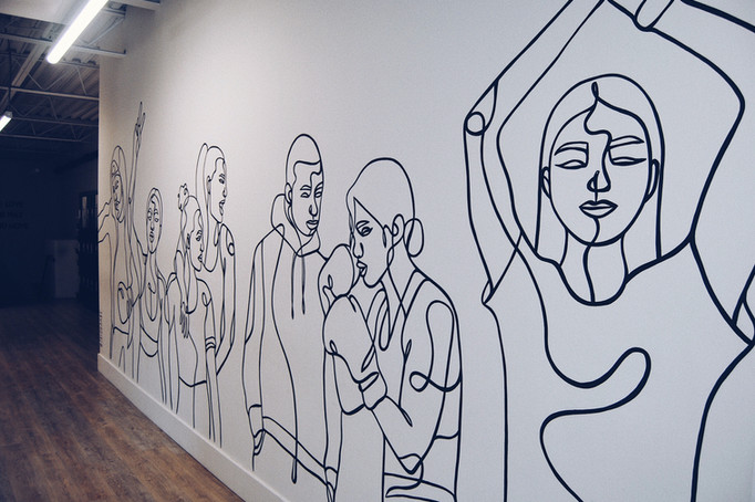 Hustl+Flow Mural