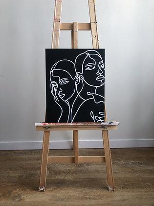 Birch Panel Painting 2