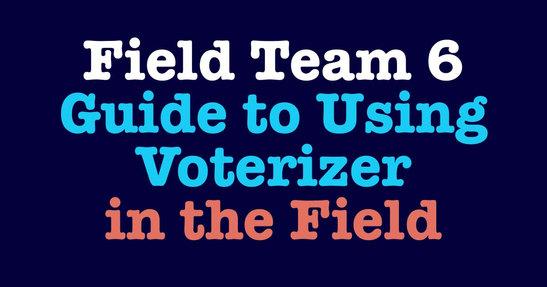Voterizer in the Field