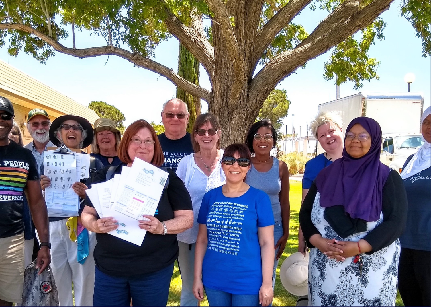 How you like us now?! Record-breaking voter drive in CA08!