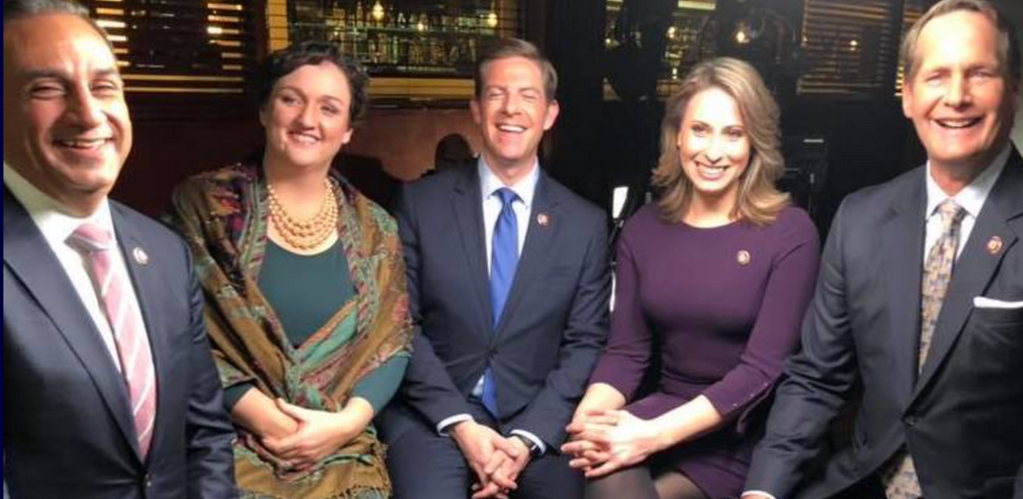 Our efforts in Southern California gave us 5 new Democratic Representatives! (Left to right:) Gil Cisneros (CA39), Katie Porter (CA45), Mike Levin (CA49), Katie Hill (CA25) & Harley Rouda (CA48)