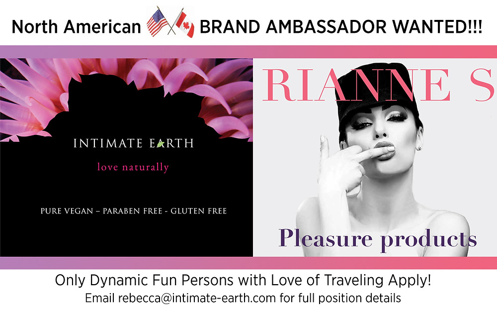 Official Intimate Earth and Rianne S Brand Ambassador Search