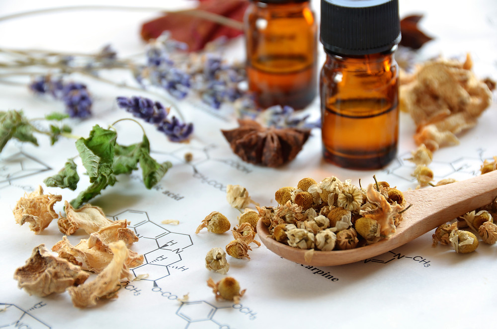 Herbs With Essential Oils - Organic Health for Skin