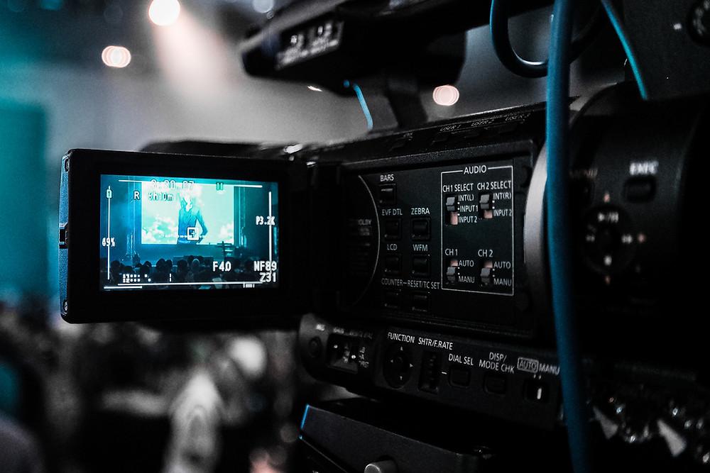 Camera rolling - on set