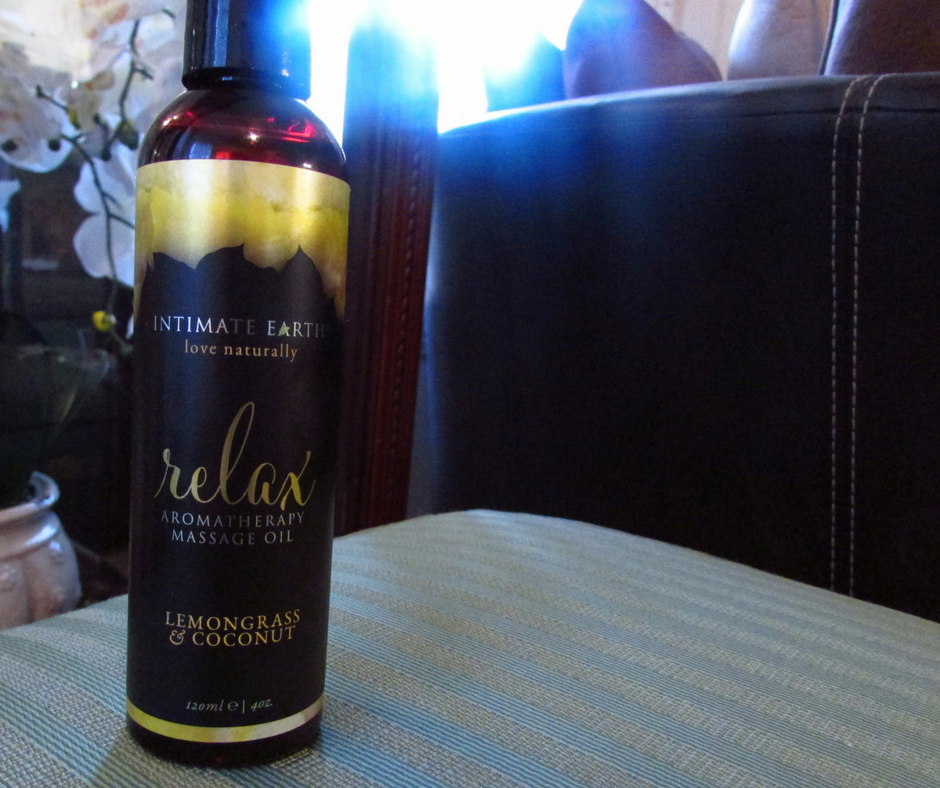 Intimate Earth - Relax Aromatherapy Massage Oil Lemon Grass & Coconut