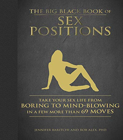 The Big Black Book of Sex Positions featuring Intimate Earth