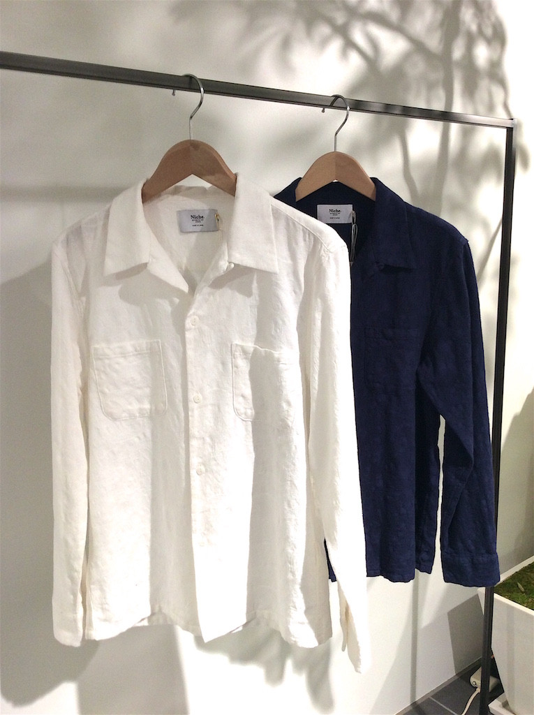 Niche. TORRANCE OPEN COLLAR SHIRTS