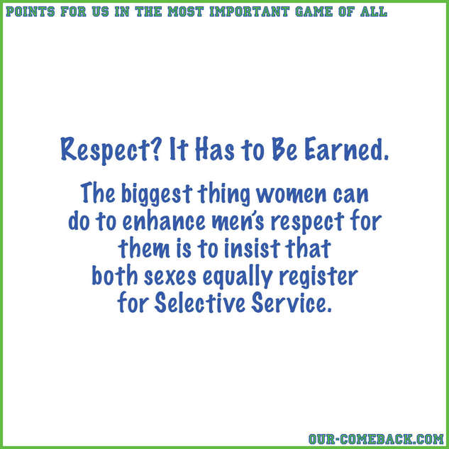 Earning Men's Respect
