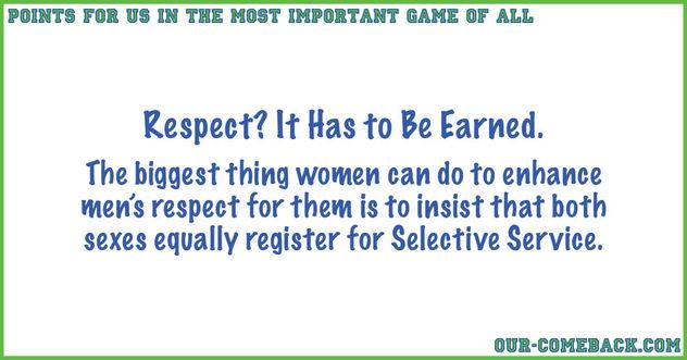 Earning Men's Respect