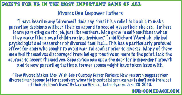 Divorce Can Empower Fathers