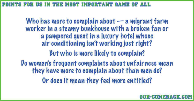 Complaints Tell Us What?