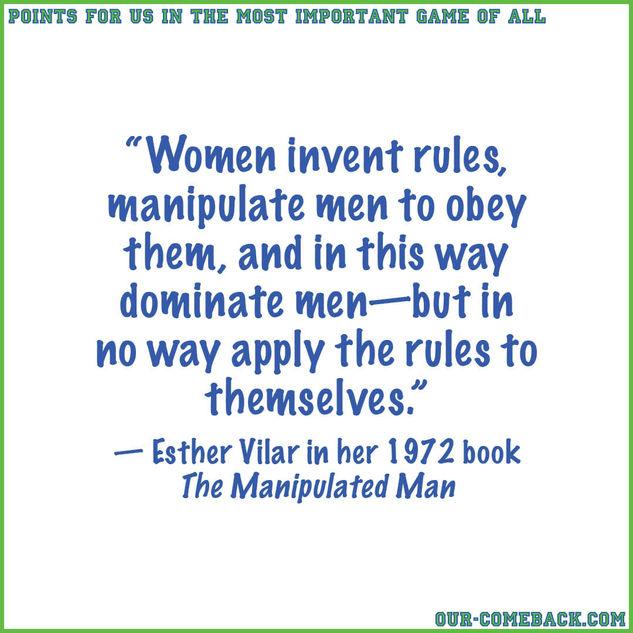 An Anti-manipulative Woman