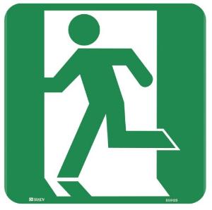 Exit Sign - Running Man