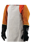Welders Sleeves - Chrome Leather