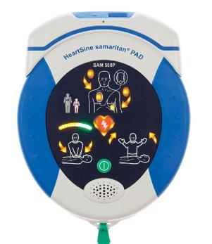 HeartSine SAM 500P Defibrillator WiFi Gateway Bundle