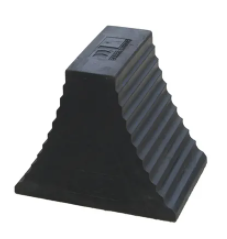 Wheel Chock Heavy Duty Double Sided - Recycled Rubber