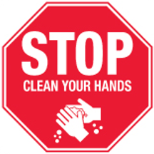 STOP - Clean Your HANDS