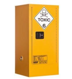 Toxic Storage Cabinet 60L 1 Door, 2 Shelf