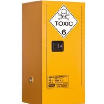 Toxic Storage Cabinet 60L 1 Door, 2 Shelf