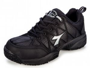 Diadora Comfort Worker--Sizes 4-14 Black
