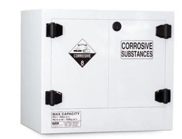 Poly Corrosive Cabinet 100LTR, 2 Door, 1 Shelf