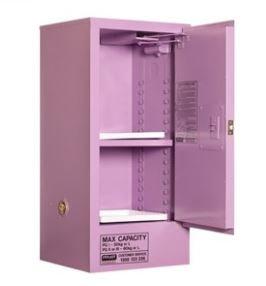 Corrosive Storage Cabinet 60L 1 Door, 2 Shelf