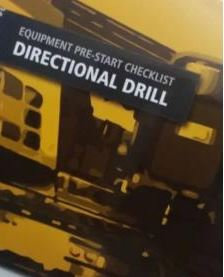Pre-Start- Horizontal Directional Drill